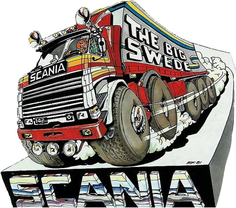 Scania V8 - 3 Steps To Heaven